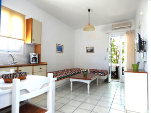 paros naoussa apartments at Volossirakis